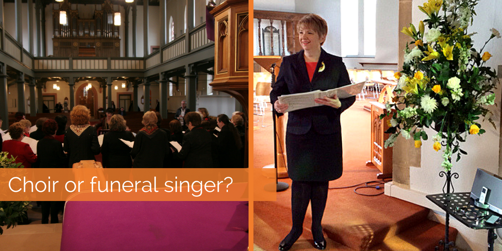 Funeral singer or funeral choir